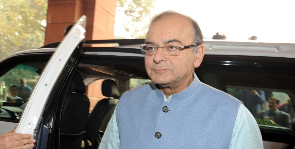 The Union Minister for Finance, Corporate Affairs and Information & Broadcasting, Shri Arun Jaitley arrives at Parliament House to present the General Budget 2016-17, in New Delhi on February 29, 2016.