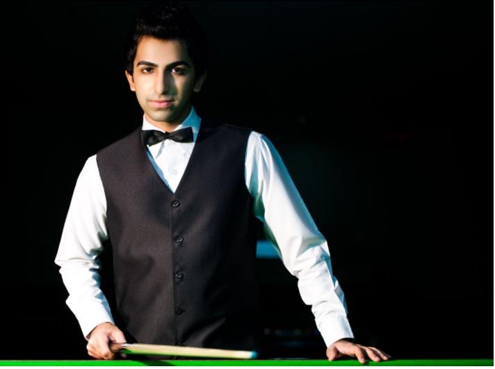 billiards champion, Pankaj Advani