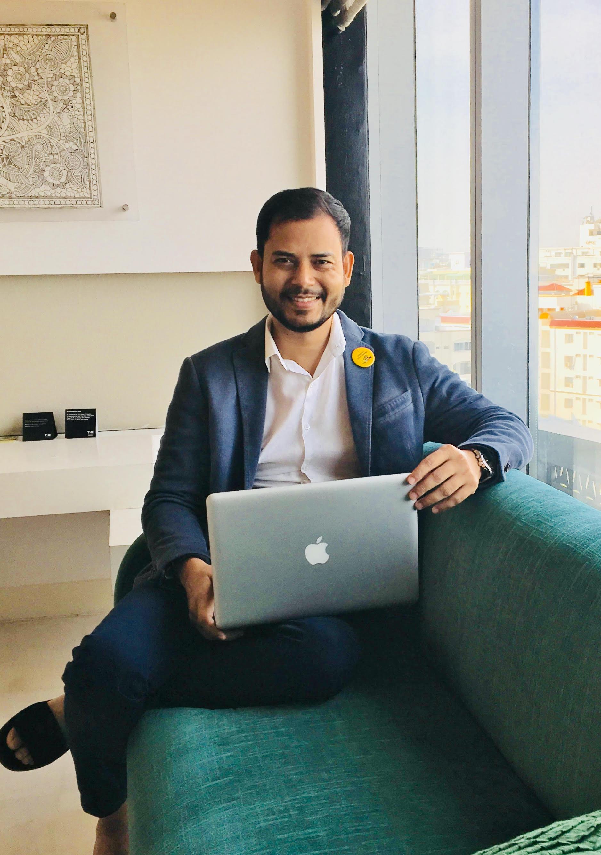 Jitendra Mishra, film producer, CIFEJ
