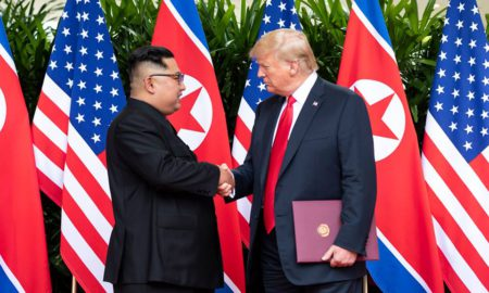 President Donald J. Trump with North Korean leader Kim Jong Un | June 12, 2018 (Official White House Photo by Shealah Craighead)