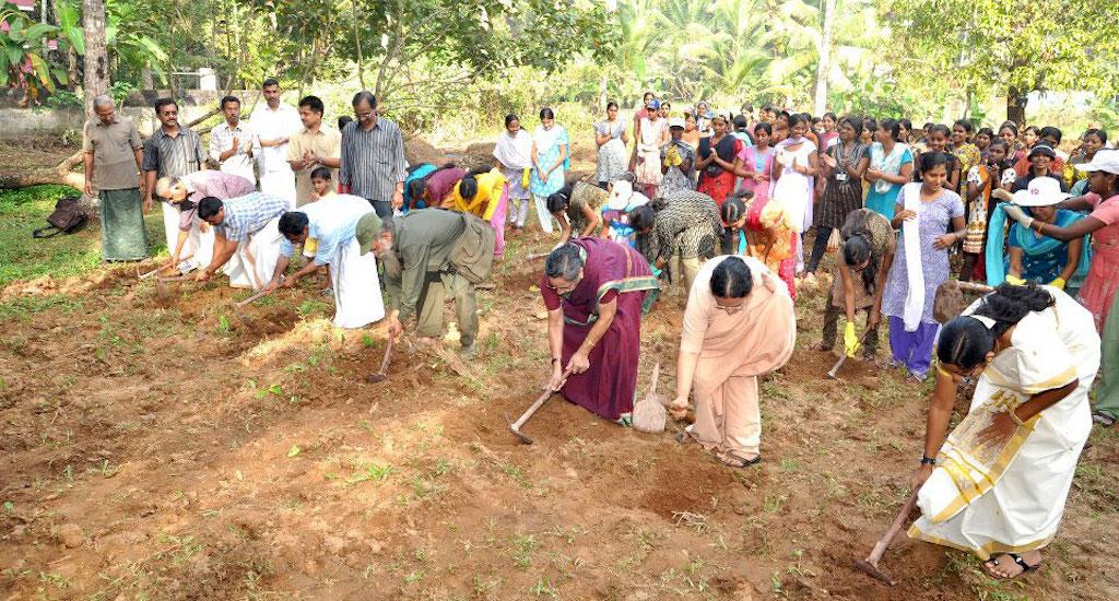 Kerala village breaks new ground in sustainable living